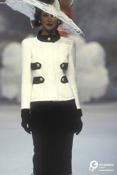Chanel, Spring-Summer 1992, Couture on www.europeanafashion.eu