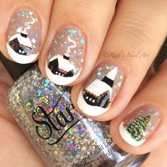 """Big Bang Flurry"" by Starrily. #ruthsnailart #nailart #livelovepolish"