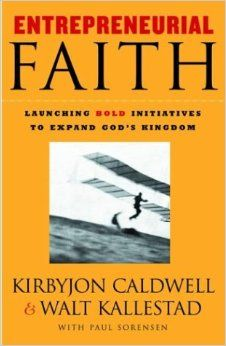 """Highly recommended book // """"[This book] is for laypersons, pastors, executives, working people, mothers, fathers, concerned teenagers. In other words, the life of entrepreneurial faith is for you"""". Pg 7"""