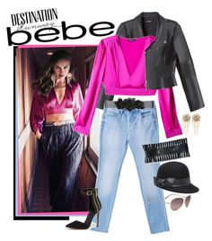"""""""Destination Runway with bebe #2"""" by elafashionable ❤ liked on Polyvore featuring мода, Bebe и beiconic"""