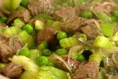 Dados de carne al cilantro Cilantro, Carne, Beef, Foods, Food Recipes, Cooking, Foodies, Food Food, Ox