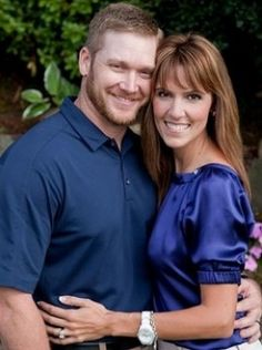 Chris Kyle with his wife Taya... RIP Chris