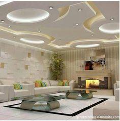 Untitled Drawing Room Ceiling Design, House Ceiling Design, Ceiling Design Living Room, Bedroom False Ceiling Design, Ceiling Decor, Living Room Designs, Living Room Decor, Decoration Faux Plafond, Bedroom Pop Design