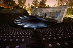The Greek Theater at UC Berkeley. My favorite concert venue, love hearing the sound echo through the Berkeley hills.