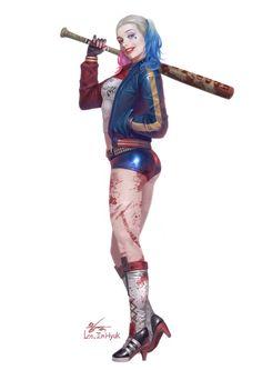 Harley Quinn by InHyuk Lee
