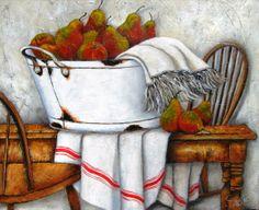Art by Stella Bruwer Watercolor Deer, Watercolor Paintings, Bucket Drawing, Stella Art, Background Tile, Marjolein Bastin, Fruit Flowers, Vintage Labels, Art Themes