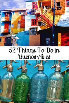 52 Things To Do in Buenos Aires via @52perfectdays