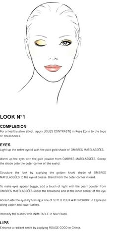 Chanel eye shadow blending how-to for a casual look