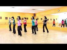 Skip The Line - Line Dance (Dance & Teach in English & 中文) - YouTube