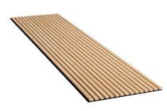 Wandbekleding | Dempt geluid | Eikenhout look Slat Wall, Wood Wall, Wooden Wall Design, Mineral Wool, Tv Wand, Sound Absorption, Climate Change Effects, Wood Panel Walls, Home Decor