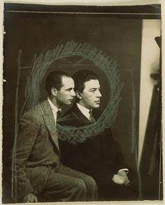 Man Ray —  Louis Aragon et André Breton, 1925