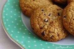 Biscotti vegani senza glutine con gocce di cioccolato - vegan cookies
