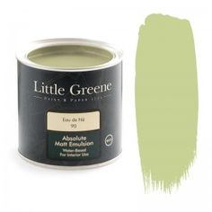 !!! Little Greene Intelligent Matt Emulsion in Eau de Nil (90)