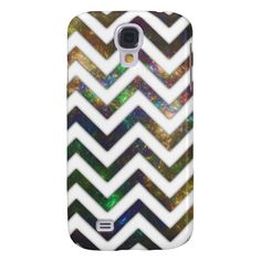 Colorful Fractal Chevron Samsung Galaxy S4 Cover