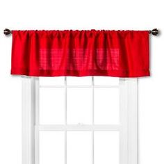 • Durable polyester<br>• Rod pocket<br>• Easy to hang<br>• Sturdy construction<br>• Machine washable<br><br>The Chesapeake Valance from Room Essentials brings a bright touch to a window with its vibrant color. An easy style update, this window valance also sports subtle texture for a classic look.