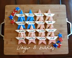 Lizy B: Pledge of Allegiance Cookies