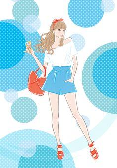 Rica Kitamura llustration | watercolor