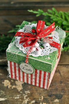 Zinc plot: Christmas exploding box