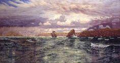 The Isles of Skomer and Skokholm - John Brett (1891)