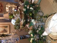 Christmas tabletop at Annelle Primos