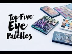 Top 5 Favorite Eye Shadow Palettes | Bonus: BeautyCon BFF Unboxing!