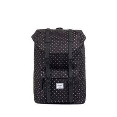 6229e7847478 Herschel Little America Mid Volume Backpack - Black Polka Dot Rubber