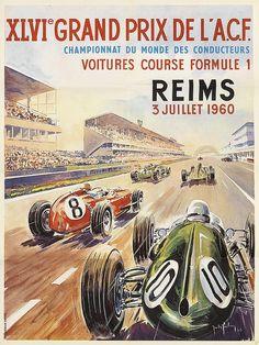 Vintage Racing, Vintage Ads, Vintage Posters, Grand Prix, F1 Racing, Drag Racing, Sport Cars, Race Cars, Motogp Valentino Rossi