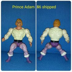 Prince Adam for sale $6 shipped in the US. Please send DM to claim. #toys #toypicture #toysforsale #toys4sale #MastersoftheUniverse #MOTU #motuforsale #PrinceAdam #HeMan #HeManforsale #retro #Retrotoys #80s #80stoys #actionfigure #actionfigures4sale #actionfigureforsale #atmseconds by atmseconds