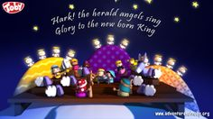 the herald angels sing, Glory to the new born king! Broadway Shows, Singing, Angels, Christmas Gifts, Birthday Cake, King, Xmas Gifts, Christmas Presents, Angel