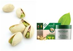 Pistachios are one of the healthiest nuts which are beneficial for skin health and to reduce inflammation of the skin. They also have anti-ageing properties and help add a bright, youthful glow to your skin. Use Bio #Pistachio nurturing face pack to nourish and revitalize skin for a smooth and radiant complexion.