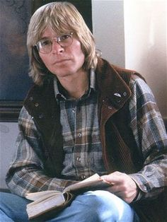 John Denver.  Not sure of the year—late 1970's, perhaps—and the context, but I like this picture.  —SGS
