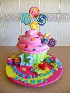 Gorgeous Teen Girl Birthday Cake