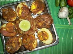 Yummy Tummy Masala Coated Eggs With Tangy Onions