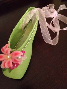 Flower Pointe Shoes