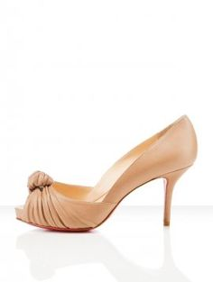 Christian Louboutin Pices Greissimo Pump 85mm Beige