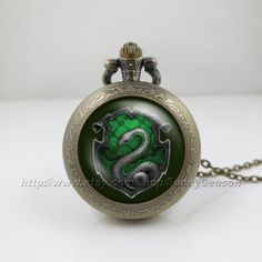 Harry Potter inspired Pocket Watch NecklaceSalazar by SunnySeason, $9.99