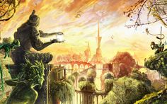 fantasy what does the land of fairies look like - Google Search