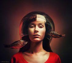 Surreal Self-Portraits By Flora Borsi | Bored Panda