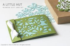 blooming gift card set by A Little Hut, via Flickr