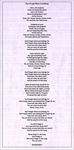 It so sad to belong to someone else lyrics