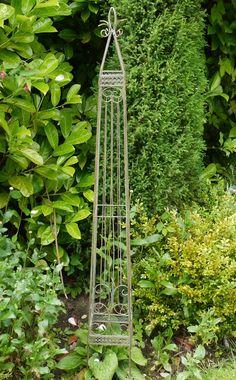 Ornate Garden Obelisk - Garden Obelisks and Climbers - Plant Supports and Garden Obelisks - Garden Planters & Accessories - Garden & Outdoor Living - Catalogue  | Black Country Metal Works
