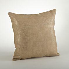 Lamina Cotton Throw Pillow