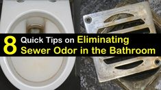 How to Get Rid of Sewer Smell in the Bathroom - 8 Quick Tips on .How to Get Rid of Sewer Smell in the Bathroom - 8 Quick Tips on Eliminating Sewer OdorExceptional cleaning hacks Smelly Shower Drain, Shower Drain Smell, Smelly Sink, Under Bathroom Sinks, Bathroom Sink Drain, Bathtub Drain, Bathroom Cleaning, Bathroom Ideas, Sink Drain Smell