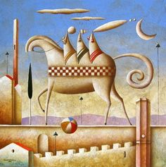Carlo Mirabasso Contemporary Artists, Painting, Inspiration, Pintura, Biblical Inspiration, Painting Art, Paintings, Painted Canvas, Drawings