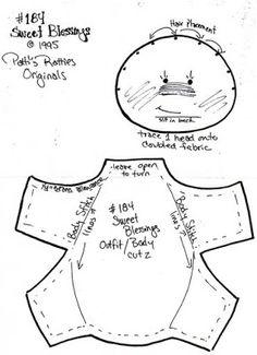 Dina Inspirações: Patti's Ratties