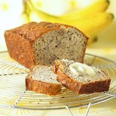 Banana Bread Serve this moist banana-packed bread plain and delicious or top with honey butter for a special treat.