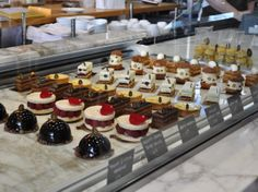 display case | First Look: B. Patisserie, San Francisco | Serious Eats