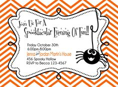 halloween party free printable halloween invitation