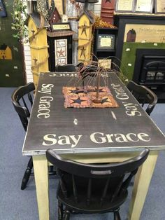 pinterest primitive kitchen tables displays found on uploaded by user - Primitive Kitchen Tables