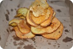 Aprils Lifestyle : Baked Potato Chips #Lowfat #HealthyEating